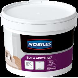 Nobiles Biała Akrylowa - 10L