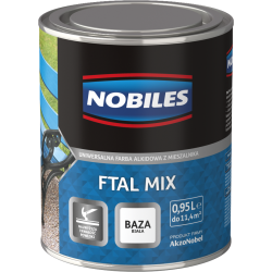 Nobiles Ftal Mix Połysk Baza Biała - 0.95L