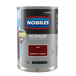 Nobiles Nobikor Czerwony Tlenkowy - 1L