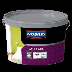 Nobiles Latex Mix Mat Baza Biała - 2.7L