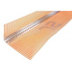 Narożnik Aluminiowy z Siatką Pomarańczowy 3mb Max (10x15)