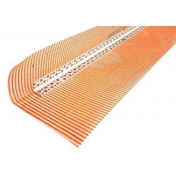 Narożnik PCV z Siatką Pomarańczowy 3mb Max (10x15)