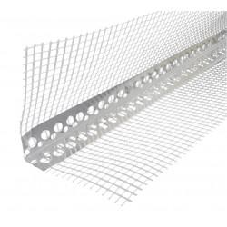 Narożnik Aluminiowy z Siatką 3mb (10x10cm)