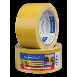 Taśma Dwustronna Premium Żółta 48mm x 25m