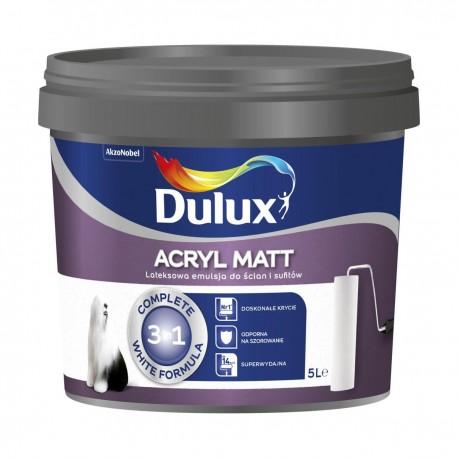 Dulux Acryl Matt Biała 5L