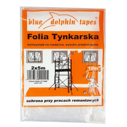 Folia Tynkarska 2m x 5m Pomarańczowa