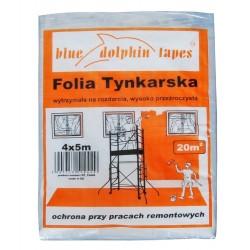 Folia Tynkarska 4m x 5m Pomarańczowa