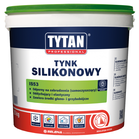 Tytan Tynk Silikonowy Is53 B15 25kg Sklep Deko Kolor