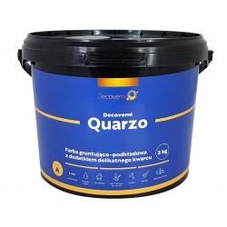 Decoverni Quarzo Farba Podkładowa z Dodatkiem Kwarcu - 3kg