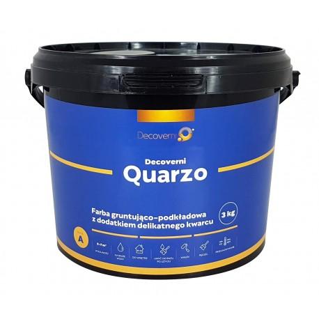 Decoverni Quarzo Farba Podkładowa z Dodatkiem Kwarcu - 2,5kg