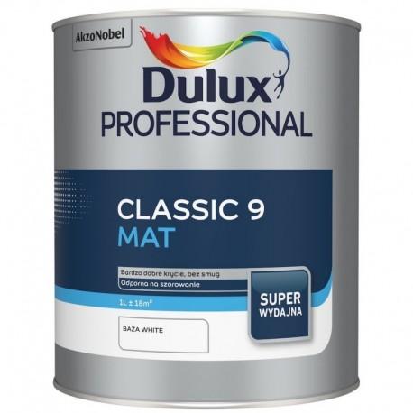 Dulux Professional CLASSIC 9 Baza White 0.9L