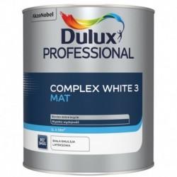 Dulux Professional COMPLEX WHITE 3 Mat 1L