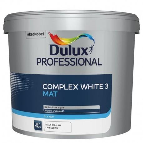 Dulux Professional COMPLEX WHITE 3 Mat 3L