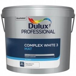 Dulux Professional COMPLEX WHITE 3 Mat 9L