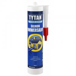 Tytan Silikon Uniwersalny Biały Euro-Line - 300ml